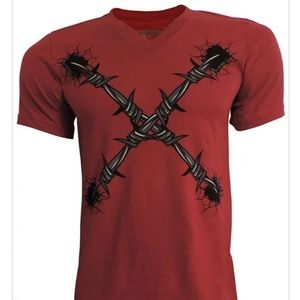Shirts - New X barbed wire T-shirts.